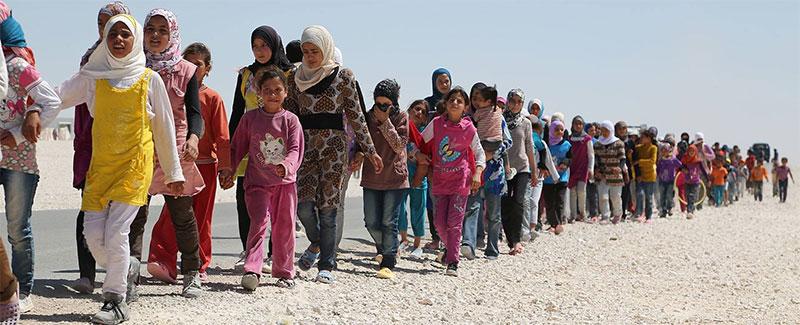 """""""Suriyeli sığınmacıları istemiyoruz"""""""