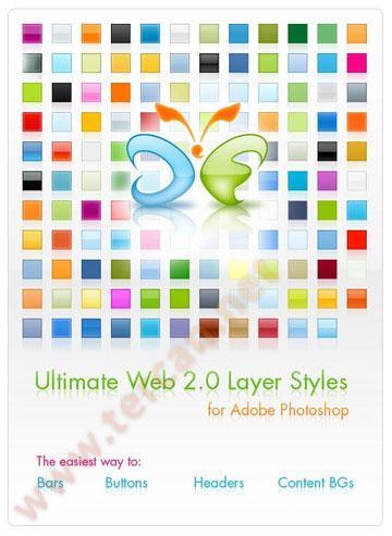 Photoshop ile Web 2.0 butonları yapın