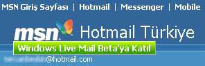 Live Mail Beta'ya Katıl